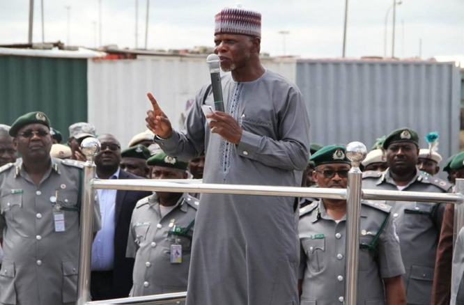 nigeria customs officers sacked certificate forgery