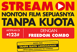 Indosat STREAM ON Streaming Gak Pake Kuota