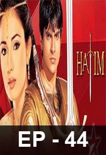 Watch Online Hatim full Episode 37 free HD & Download