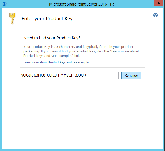 how to install sharepoint 2016 step by step