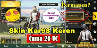Cara Mendapatkan Skin Kar98 Di Game PUBG Mobile