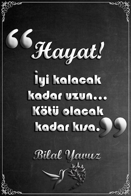 2 - Şair Bilal Yavuz'dan şiirler