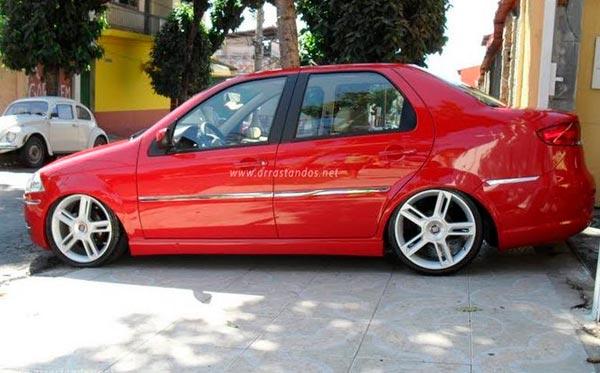 Siena Rebaixado Only Cars Carros Rebaixados Turbo