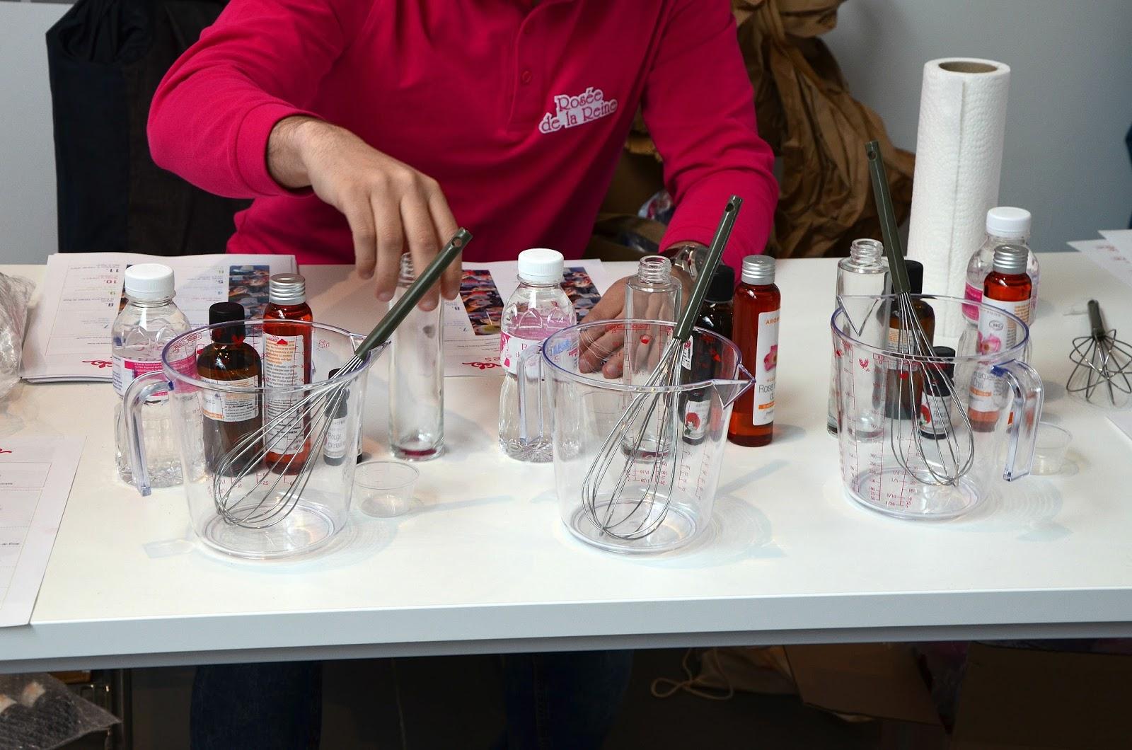 atelier DIY eau démaquillante la rosée des reines