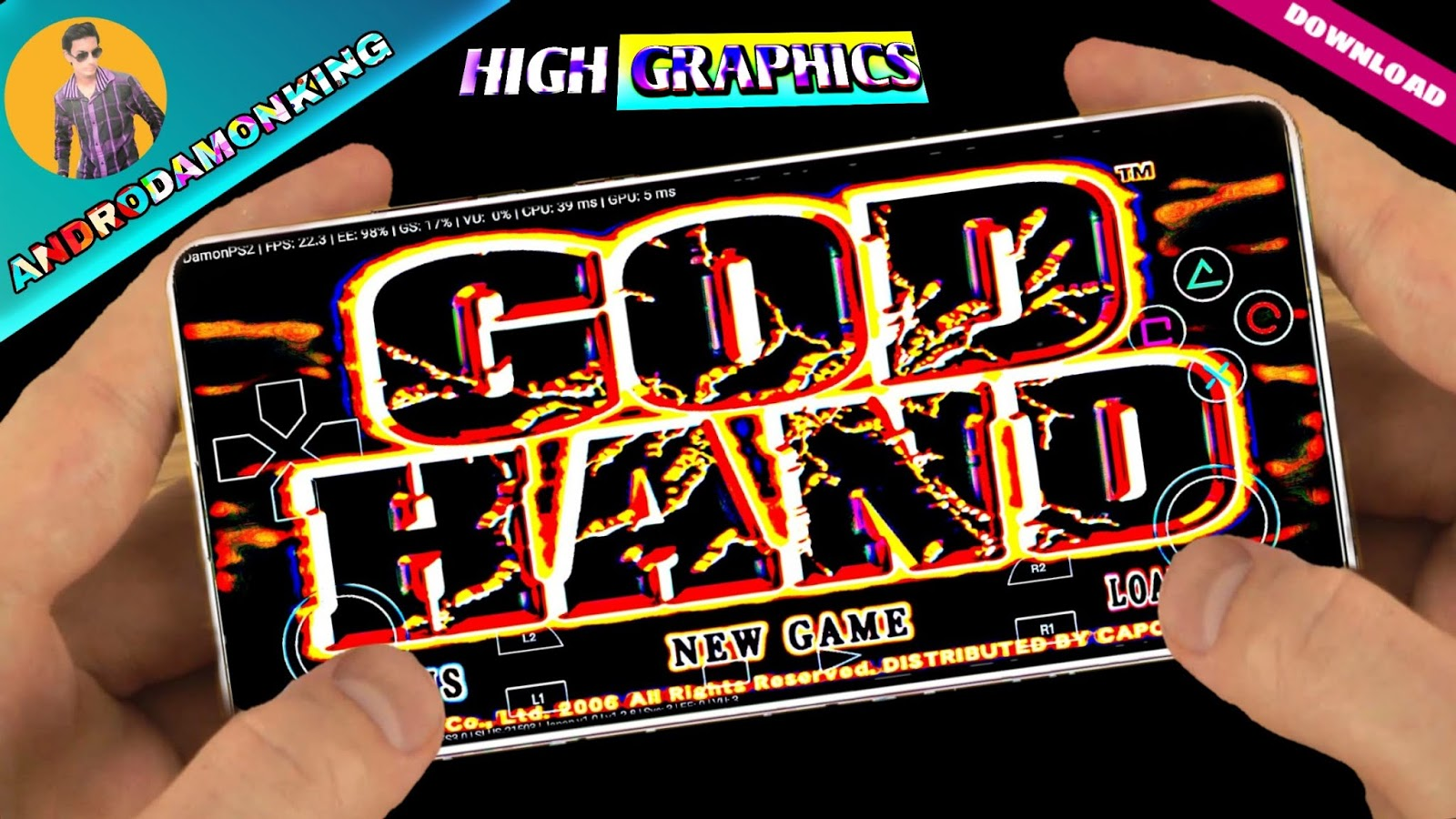😝 Download game god hand damon ps2 | How To Download God Hand On
