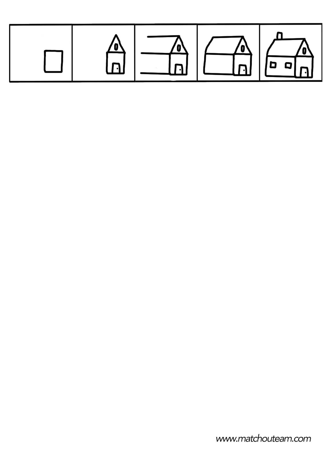 maison dessin dirigé