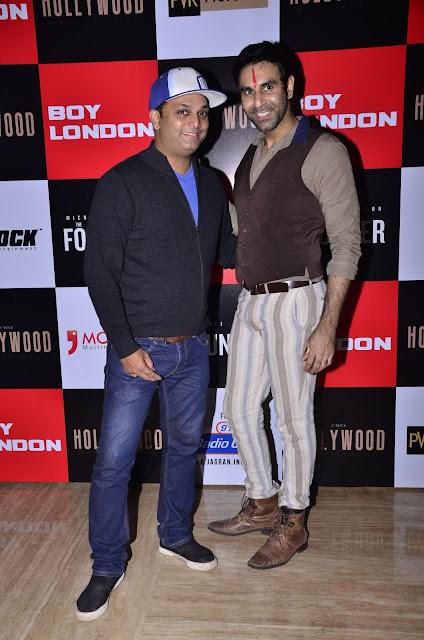 Aarnav Shrishat & Sandip Soparkar at Premiere of International Hollywood Movie The Founder