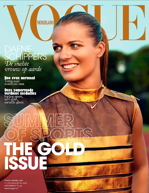 Olympic athletes of the Netherlands, @ Dafne Schippers - Vogue Netherland, July/August 2016