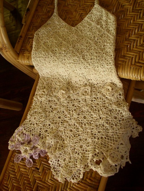 Crochet Motif Summer Top - Free Pattern