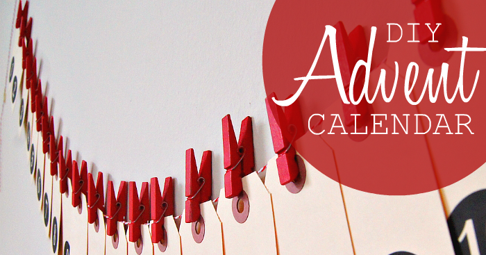 Diy Calendar Australia : Diy shipping tag advent calendar poppytalk
