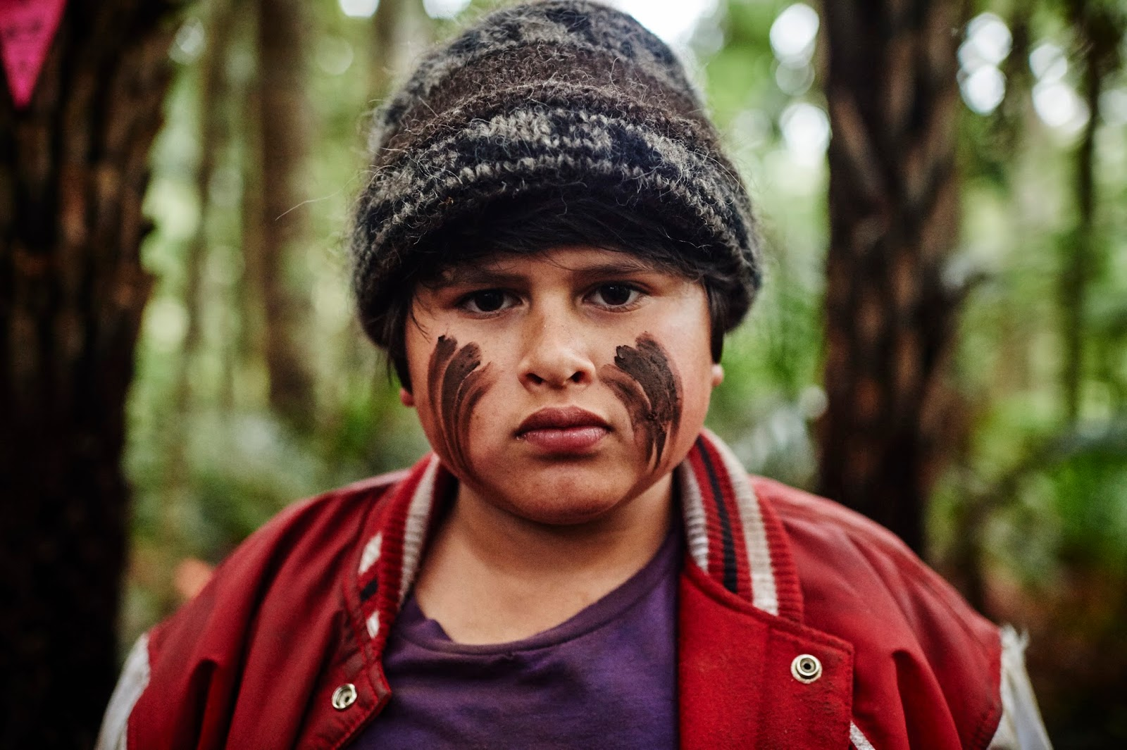 Image result for julian dennison in Hunt For The Wilderpeople'