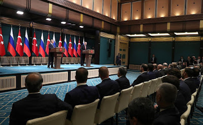 Press statements following Russian-Turkish talks.