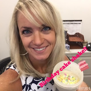 Birthday Cake Shakeology, cake protein shake, birthday cake shake, cake batter shake, healthy birthday, dessert, treat