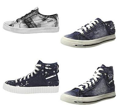 Diesel Sneaker Jeans damen