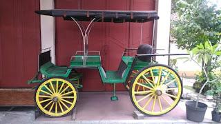 Dijual kereta kuda antik