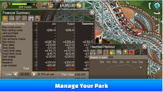 Download Game RollerCoaster Tycoon Classic MOD Apk + DATA Terbaru