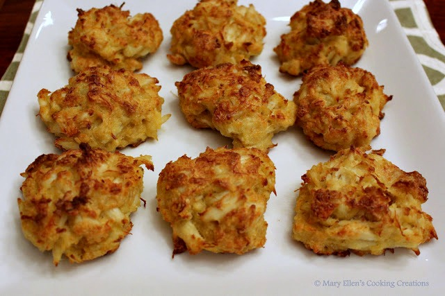 Mary Ellen S Cooking Creations Jumbo Lump Crab Cakes With A Lemon Garlic Aioli