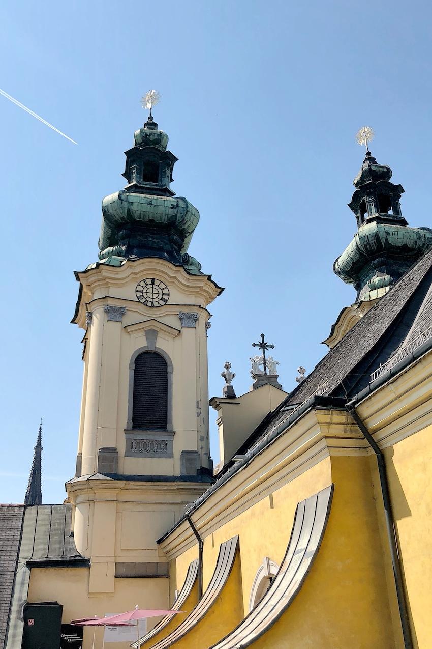 Aufgang Ursulinenkirchen Höhenrausch