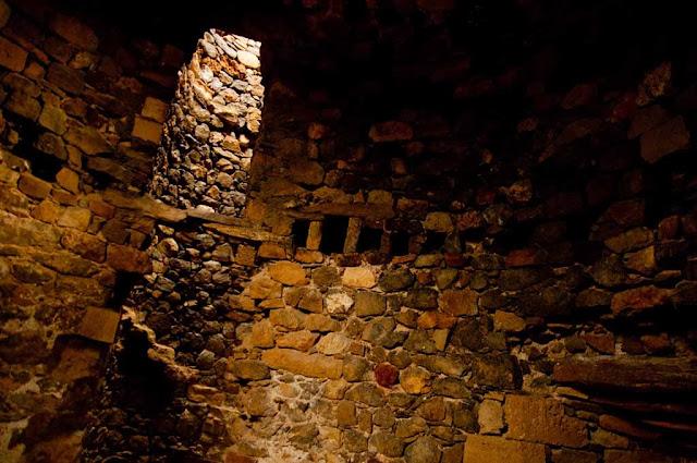 Interior Los castillos de Lastours