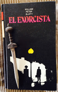 Portada del libro El exorcista, de William Peter Blatty