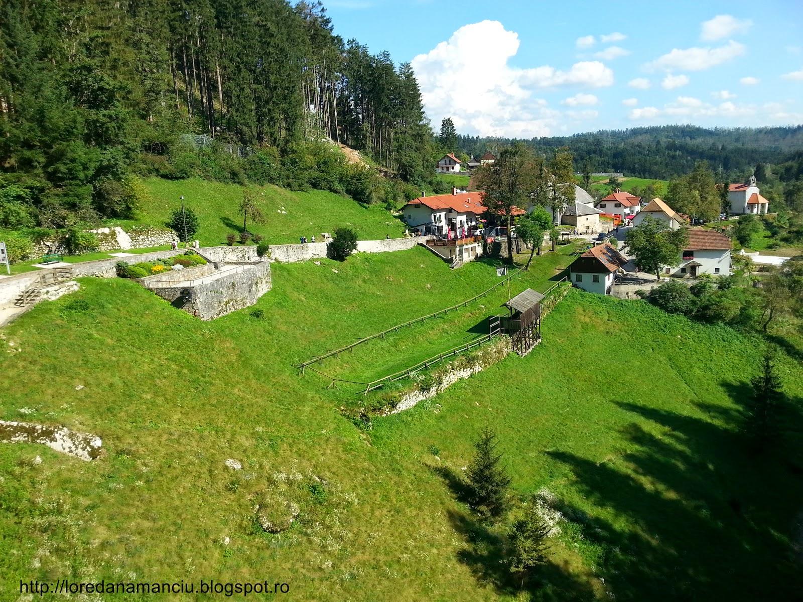 Predjama Castle view, Slovenia