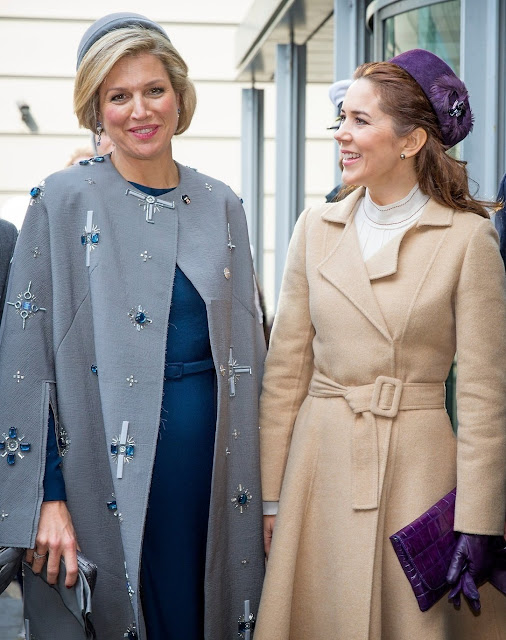 Queen Maxima of Netherland and Crown Princess Mary of Denmark