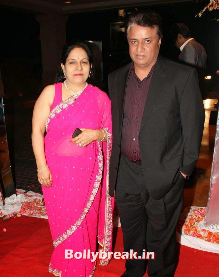 Kumar Mangat, Siddharth Kannan & Neha Agarwal Wedding Reception Pics