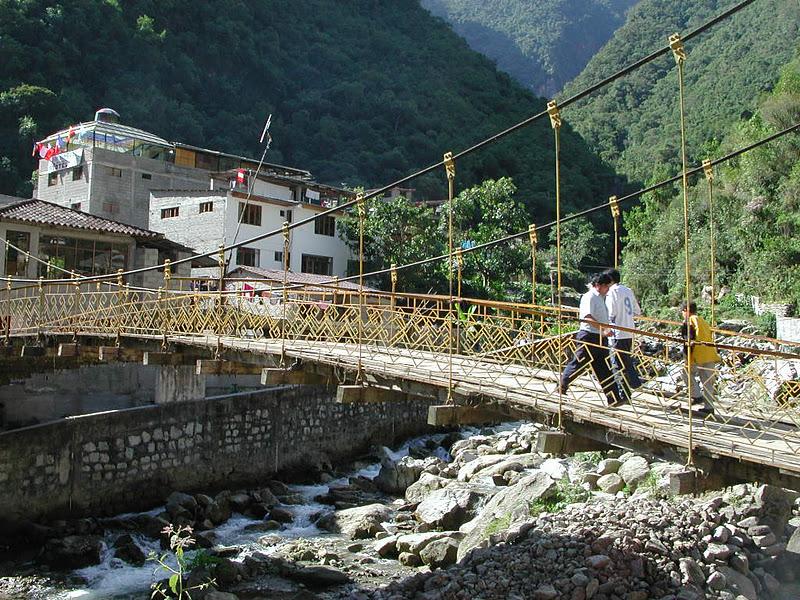 Bridge of the Week: Peru's Bridges: Puente a Machu Picchu (1)