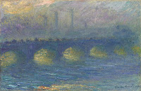 Claude Monet Waterloo Bridge, temps couvert. 1904