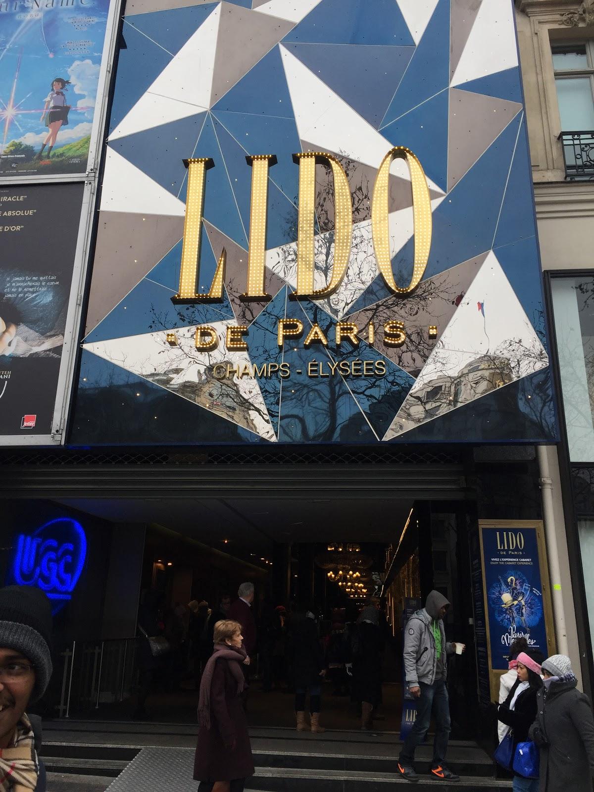 Famous LIDO @ Paris