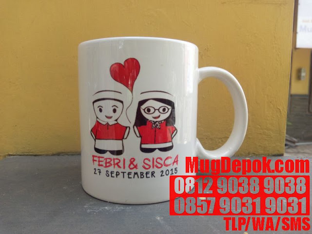 CUSTOMIZED MUG USA BEKASI