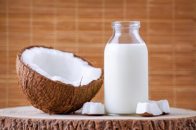 receita Como fazer leite de coco caseiro