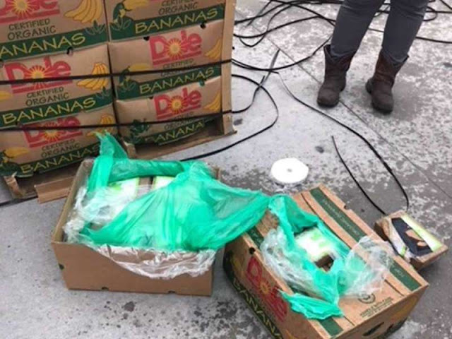 18 million worth of cocaine found in bananas given to Texas prison