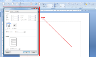 Cara Membuat Margin Skripsi 4 4 3 3 di Microsoft Word