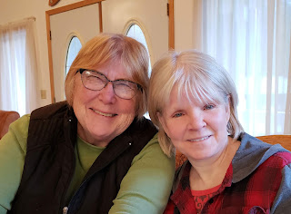 Judy and Brenda