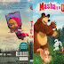 Capa DVD Masha E O Urso Vol 1 a 3