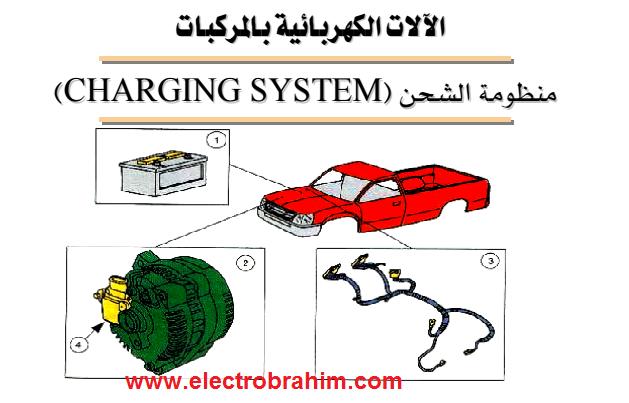 تحميل كتاب منظومة الشحن بالسيارات  Charging system in cars