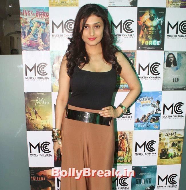 Ragini Khanna, Shradha  & Aditi at Mukesh Chhabra Casting Studio Launch