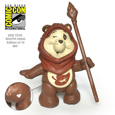 "San Diego Comic-Con 2016 Exclusive ""Endorheart Bear"" Star Wars x Care Bears Resin Figure by JunkFed"