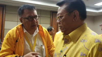 Alzier Yakin Rekomendasi Cagub Arinal Dicabut DPP Golkar