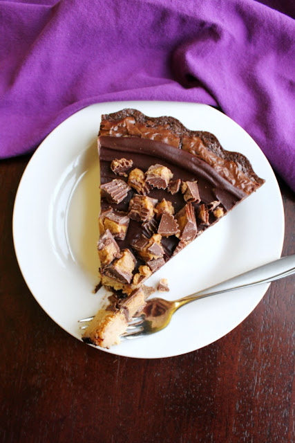 bite of peanut butter cheesecake brownies on fork