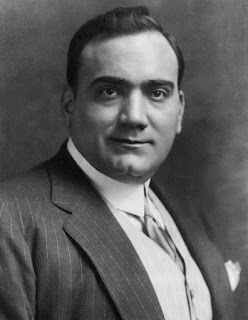 Enrico Caruso sang in a choir while working  as an apprentice to a mechanical engineer