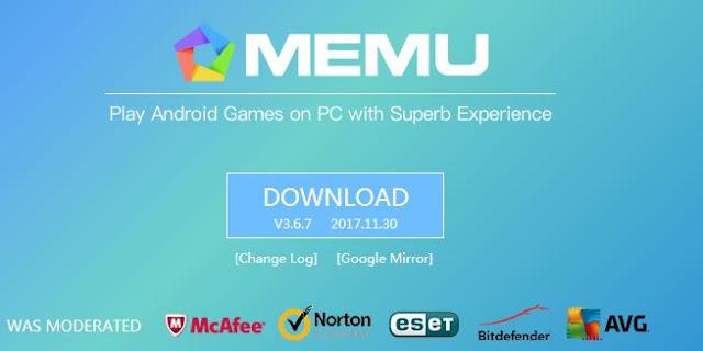 Memu Android Emulator, Aplikasi Emulator Android Paling Ringan