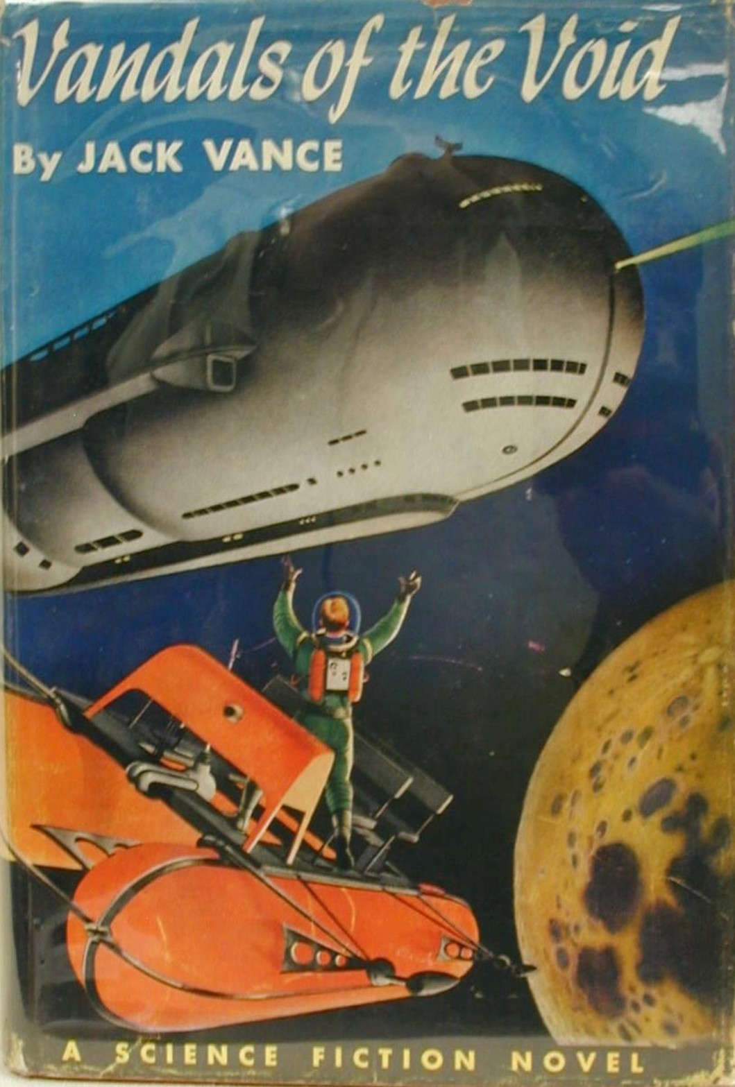 Rough Edges: Forgotten Books: Vandals of the Void - Jack Vance