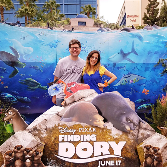 Finding Dory and Speak Like a Whale Day