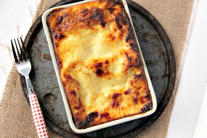 Chicken, Ham and Spinach Lasagne