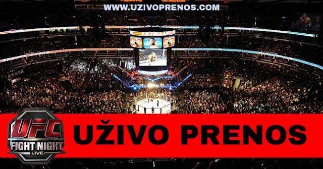Gledajte UFC borbe uživo preko interneta