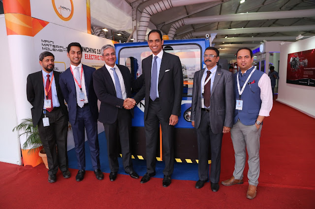MAINI MATERIALS MOVEMENT (A Maini Group Company) LAUNCHES 25-TON ELECTRIC TOW TUG