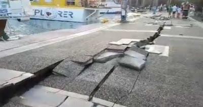 Σεισμός στην Κω: Δυο νεκροί - Άνοιξε στα δυο το λιμάνι! - Εικόνες καταστροφής με το πρώτο φως της ημέρας