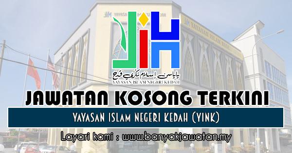 Jawatan Kosong 2018 di Yayasan Islam Negeri Kedah